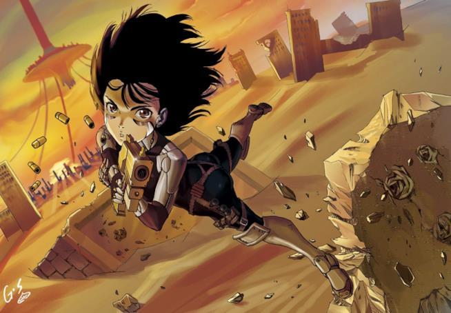 Alita: Battle Angel, il manga