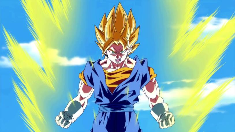 Goku Super Sayan in Dragon Ball Z