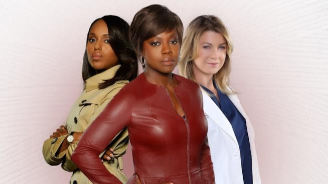 Le tre protagoniste delle serie di Shonda Rhimes