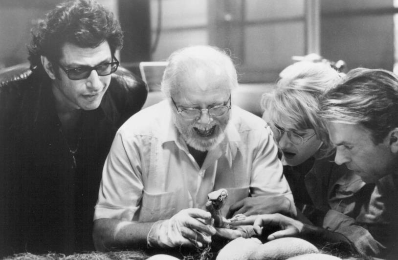 Il cast di Jurassic Park