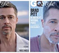 La copertina realizzata da GQ con Brad Pitt