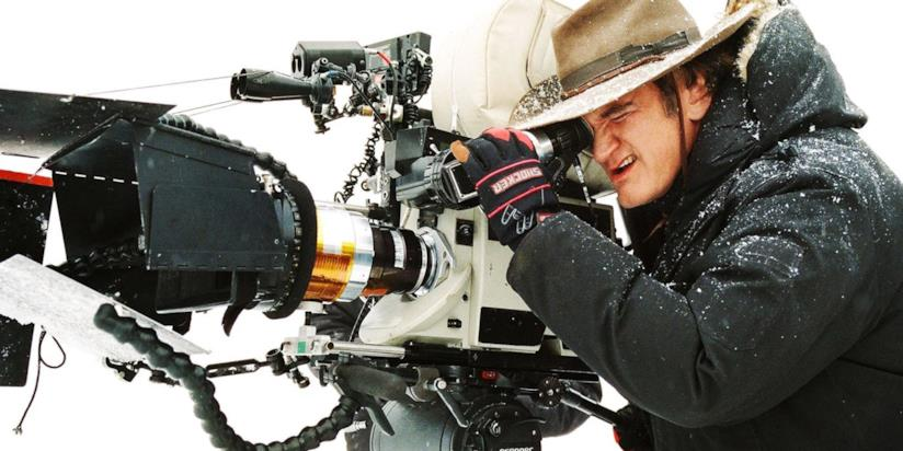 Tarantino sul set di The Hateful Eight