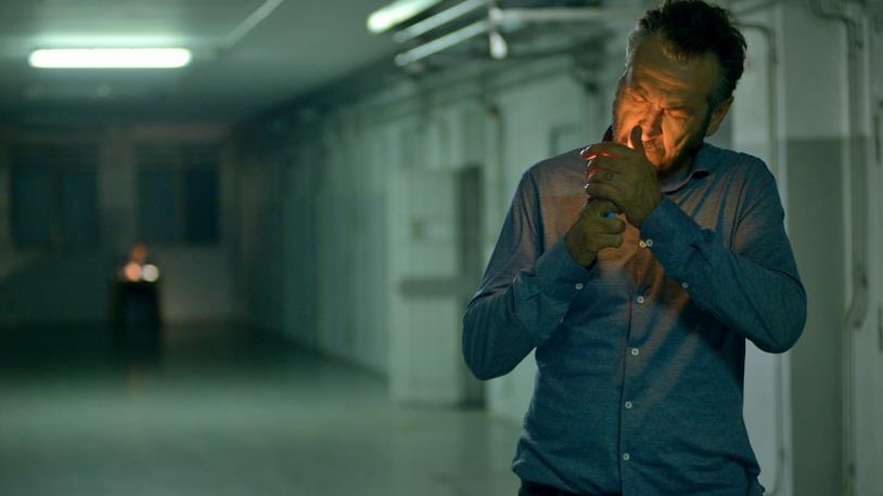 Marco Giallini è Rocco Schiavone nella serie TV Rai