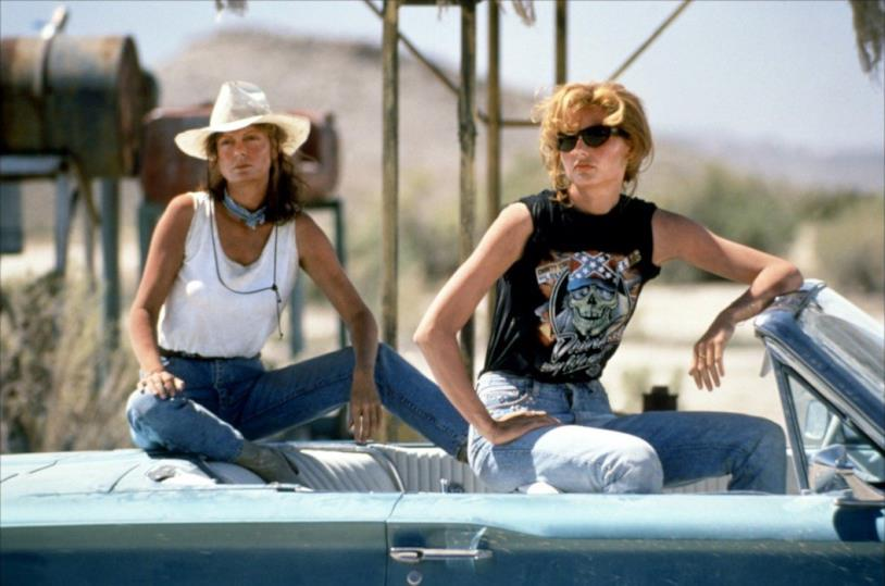 Susan Sarandon e Geena Davis