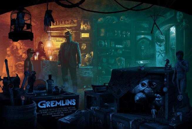 Il poster dei Gremlins
