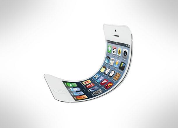 Un mockup di un iPhone pieghevole