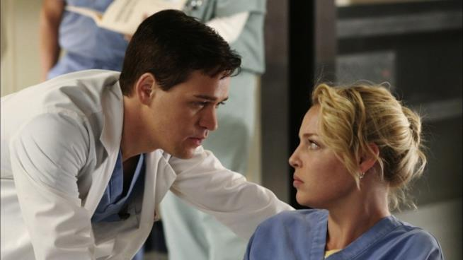 Una vecchia puntata di Grey's Anatomy