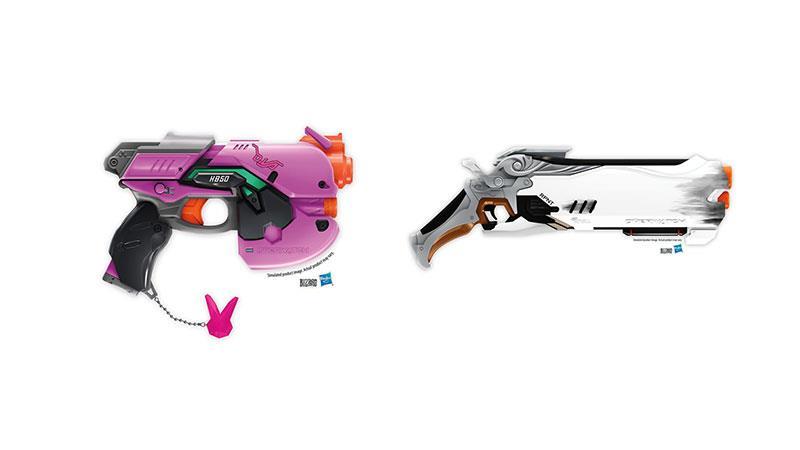 Le Nerf Gun degli eroi di Overwatch