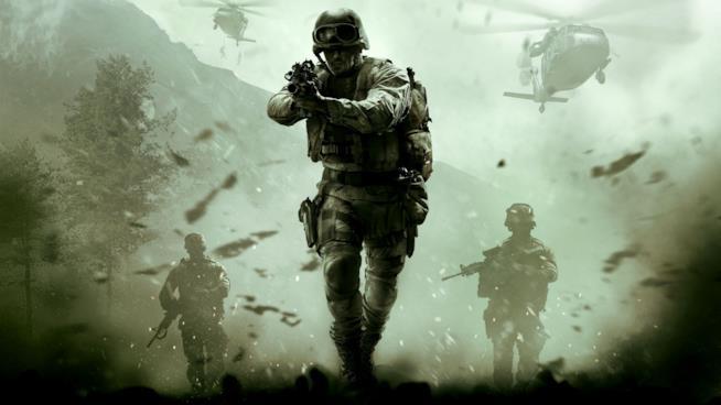 Immagine in CGI estratta dal videogame Call of Duty