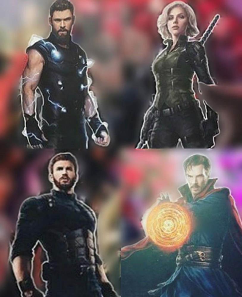 I cambiamenti di alcuni Avengers