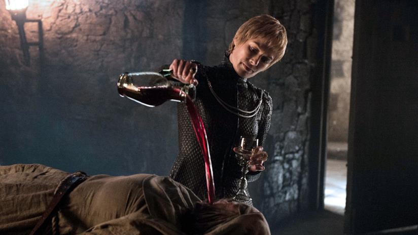 Cersei Lannister nell'ultimo episodio di Game of Thrones 6