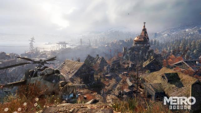 Un panorama tratto dal prossimo Metro Exodus