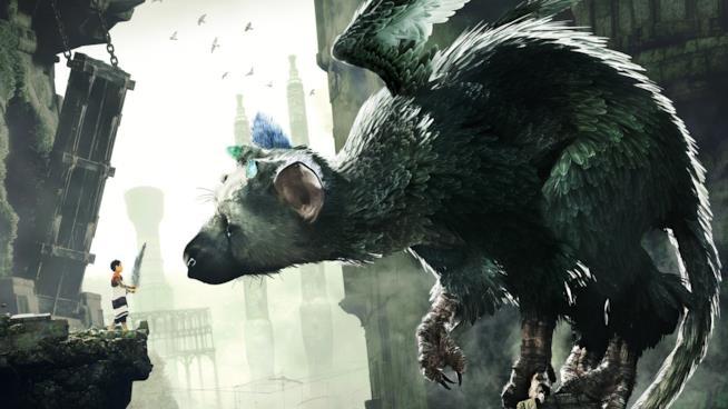 I protagonisti di The Last Guardian in un bellissimo artwork del gioco
