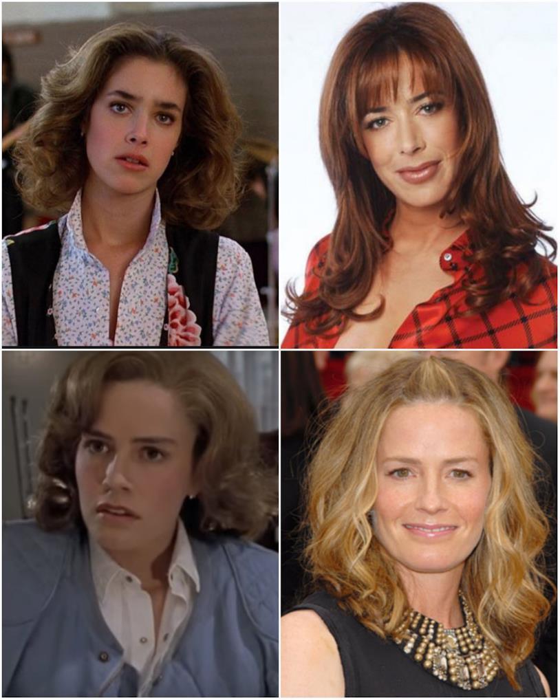 Jennifer Parker in un collage con Elisabeth Shue e Claudia Wells