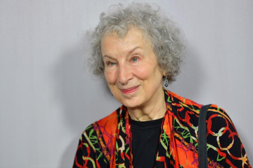 La scrittrice canadese Margaret Atwood