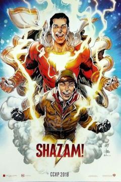 Poster disegnato di Shazam!