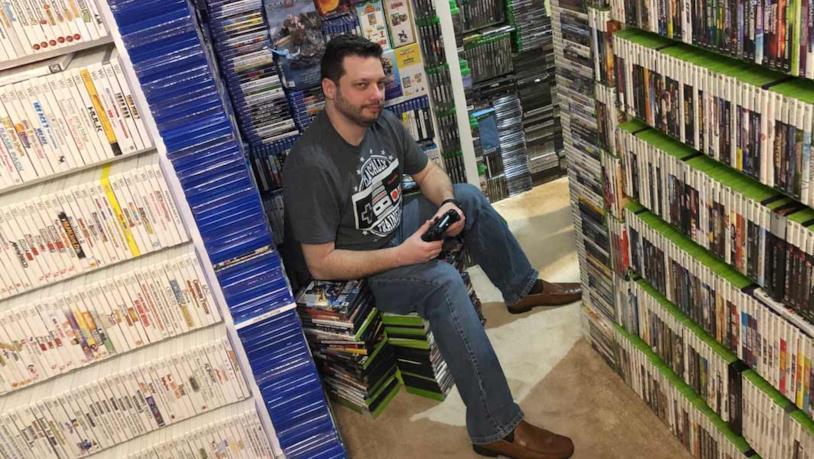 Antonio Monteiro e la sua collezione di videogiochi