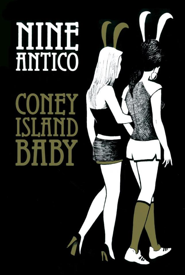 la cover del nuovo fumetto di Nine Antico su Bettie Page e Linda Lovelace