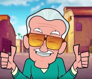 Stan Lee e il suo cameo in Spider-Man