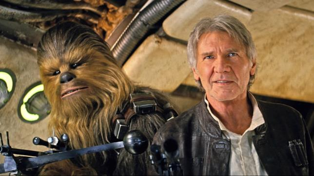 Han Solo e Chewbacca insieme in Star Wars 7
