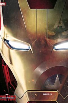 Sul casco di Iron Man c'è il riflesso di Capitan America
