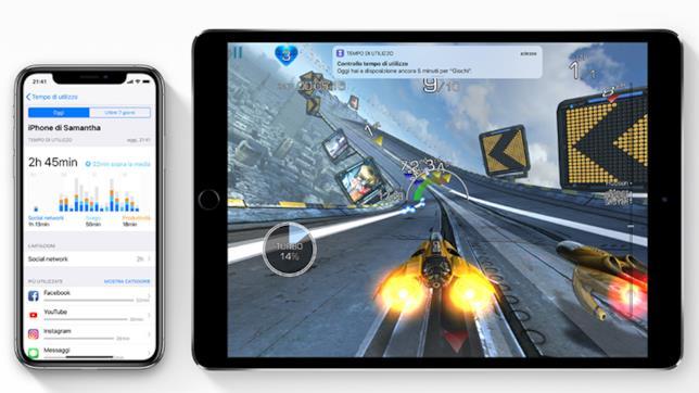 Tempo di utilizzo iOS 12