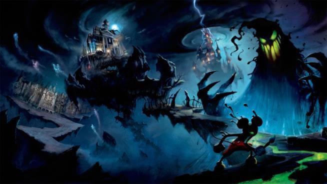 La copertina del primo Epic Mickey