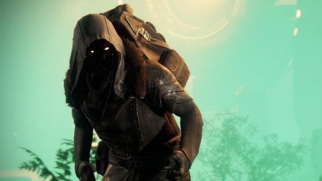 Un primo piano di Xur da Destiny 2