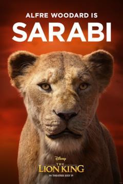 character poster di Sarabi