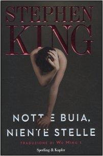 Copertina del libro Notte buia, niente stelle di Stephen king