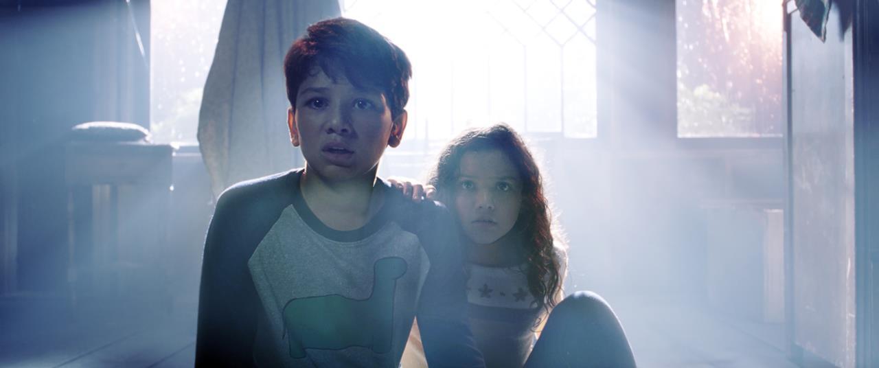 Chris e Samantha terrorizzati dalla Llorona