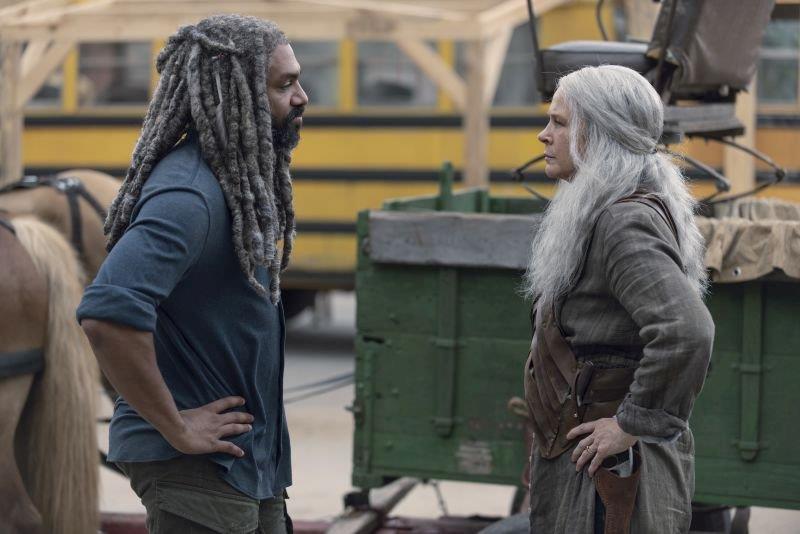 Ezekiel faccia a faccia con Carol