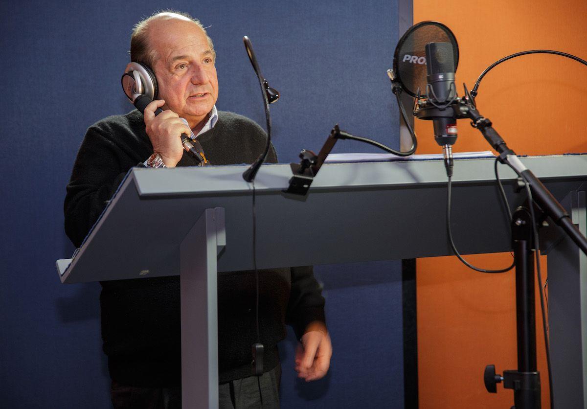 Giancarlo Magalli doppia King Louie nel Libro della Giungla