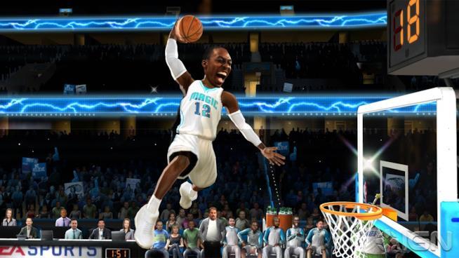 Una sequenza di gameplay dall'ultimo reboot di NBA Jam