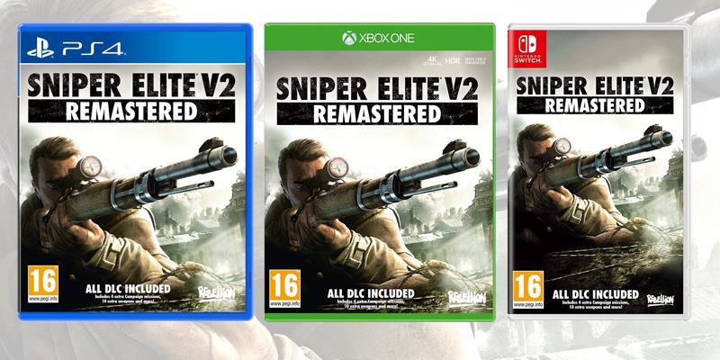 La boxart di Sniper Elite V2 Remastered