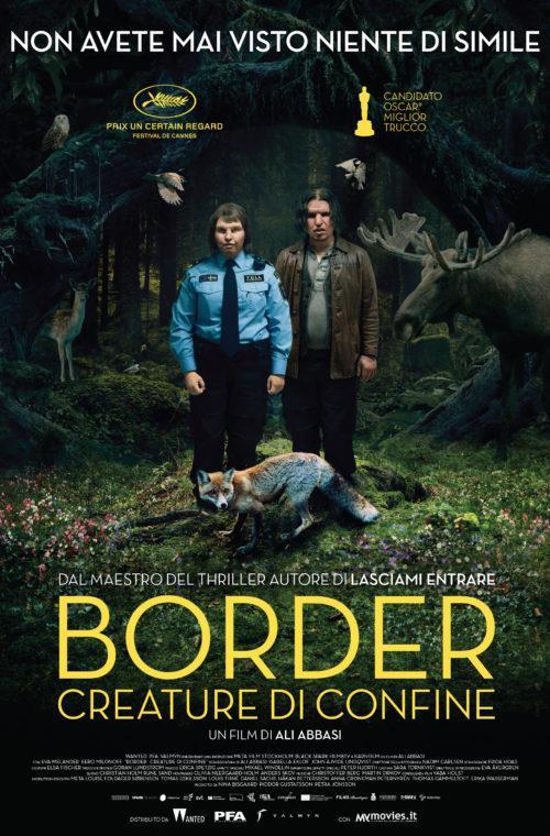 La locandina del film Border - Creature di confine