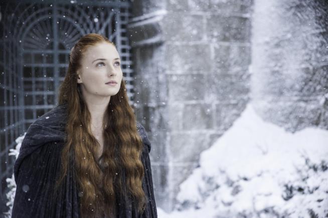 Sophie Turner è Sansa Stark in Game of Thrones