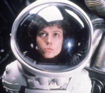 Sigourney Weaver nel film Alien del 1979