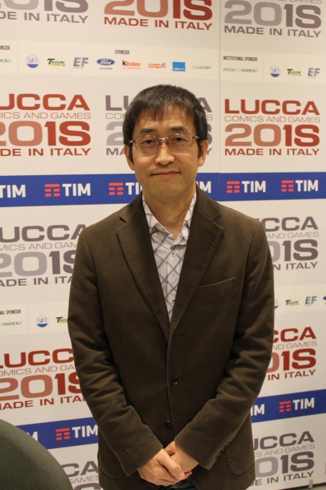 il mangaka Junji Ito