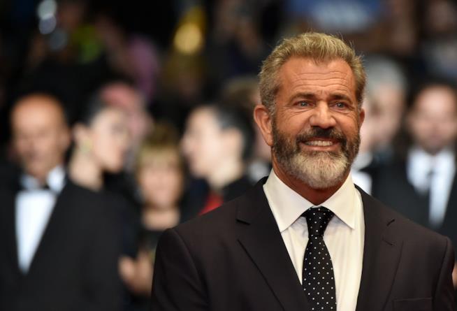 Primo piano di Mel Gibson