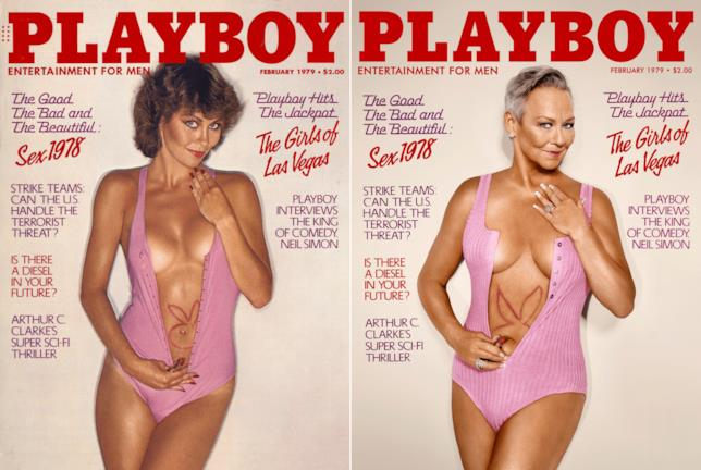 Candace Collins in posa per Playboy