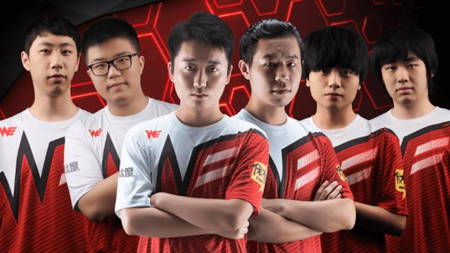 Il team sudcoreano alla Overwatch World Cup 2017
