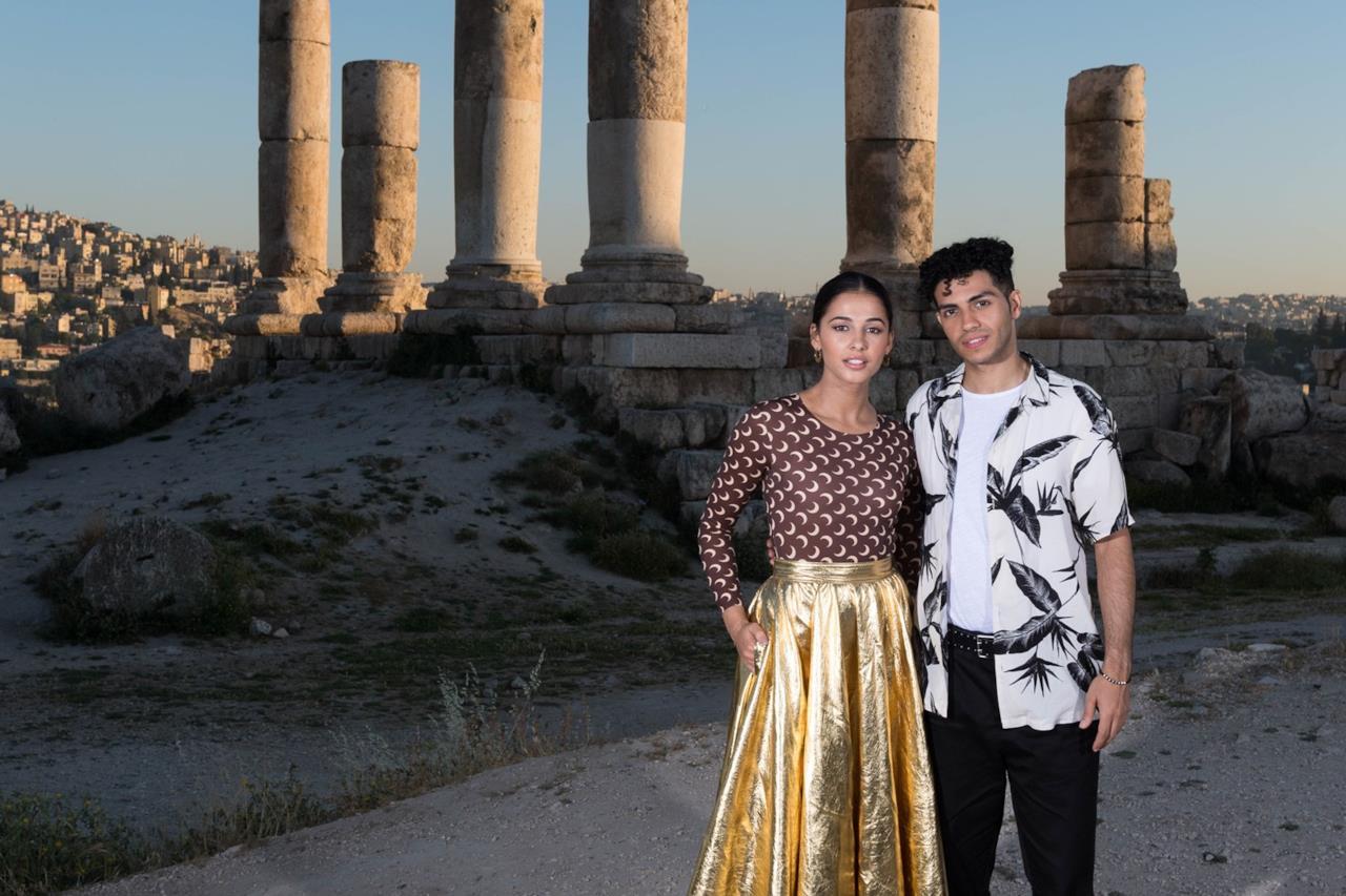 La coppia di Aladdin in Giordania