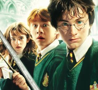 Harry, Ron e Hermione nei film di Harry Potter