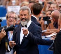 Mel Gibson a Venezia 73