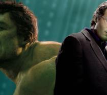 Bruce Banner è Hulk in un'immagine promozionale