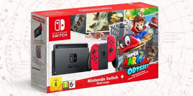 Super Mario Odyssey uscirà il 27 ottobre anche in bundle con Switch