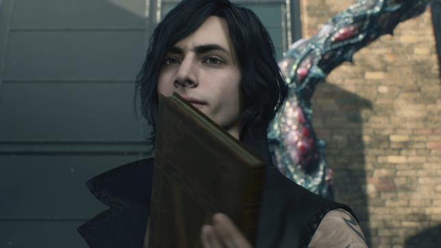 Il misterioso personaggio alla fine del trailer di Devil May Cry 5