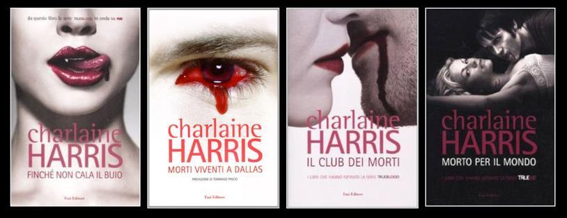 I primi libri della saga vampirica di Charlaine Harris