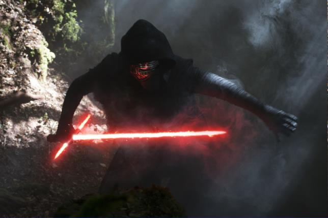 Kylo Ren in Star Wars 7